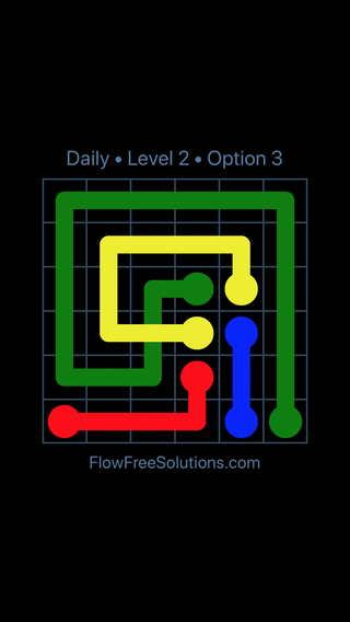 Solution and Answer to the Puzzle for Bridges Date Tuesday, May 10, 2016 Level 2