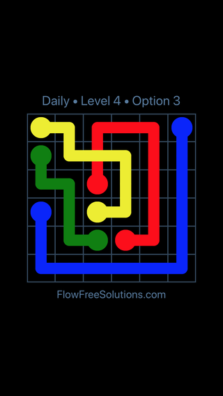 Solution and Answer to the Puzzle for Bridges Date Tuesday, May 10, 2016 Level 4