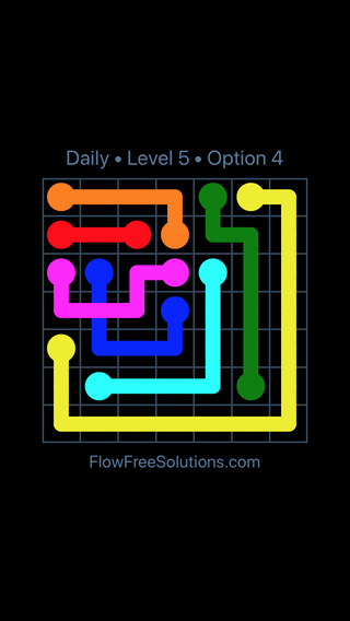 Solution and Answer to the Puzzle for Bridges Date Tuesday, August 2, 2016 Level 5