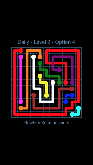 Solution and Answer to the Puzzle for Bridges Date Saturday, May 14, 2016 Level 2