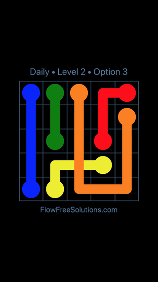 Solution and Answer to the Puzzle for Bridges Date Tuesday, May 17, 2016 Level 2