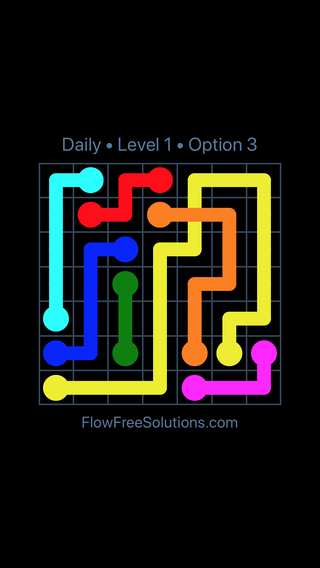 Solution and Answer to the Puzzle for Bridges Date Wednesday, May 18, 2016 Level 1