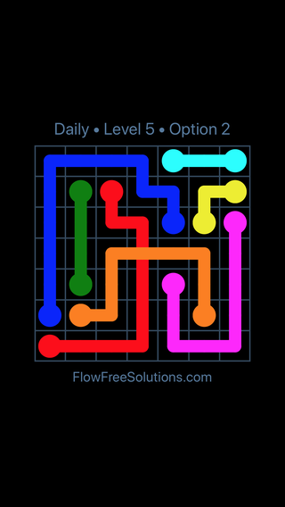 Solution and Answer to the Puzzle for Bridges Date Wednesday, August 10, 2016 Level 5