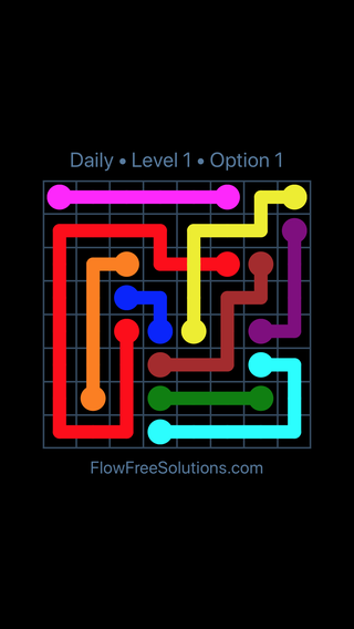 Solution and Answer to the Puzzle for Bridges Date Friday, May 20, 2016 Level 1