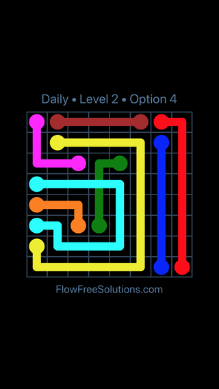 Solution and Answer to the Puzzle for Bridges Date Friday, August 12, 2016 Level 2