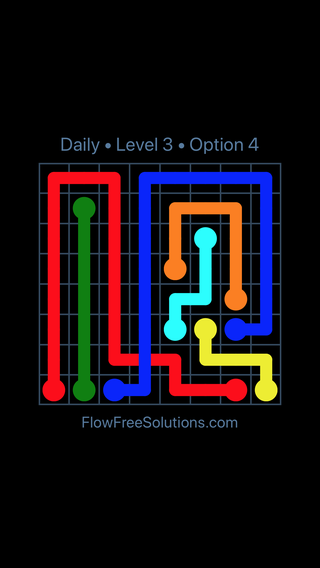 Solution and Answer to the Puzzle for Bridges Date Friday, May 20, 2016 Level 3