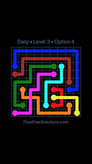 Solution and Answer to the Puzzle for Bridges Date Saturday, May 21, 2016 Level 3