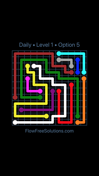 Solution and Answer to the Puzzle for Bridges Date Sunday, May 22, 2016 Level 1