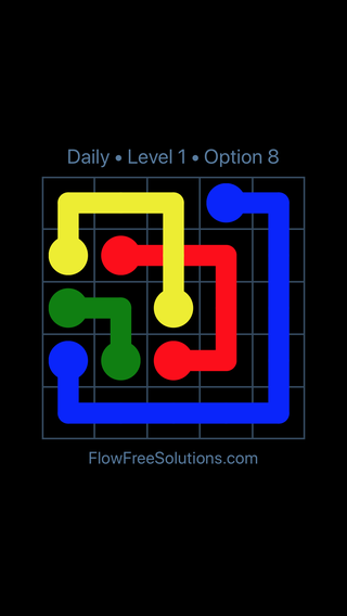 Solution and Answer to the Puzzle for Bridges Date Monday, August 12, 2019 Level 1