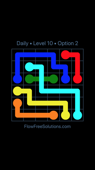 Solution and Answer to the Puzzle for Bridges Date Tuesday, August 16, 2016 Level 10