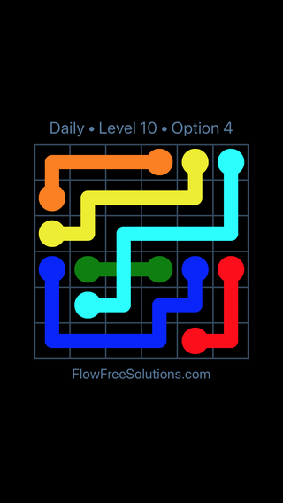 Solution and Answer to the Puzzle for Bridges Date Tuesday, August 13, 2019 Level 10