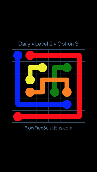 Solution and Answer to the Puzzle for Bridges Date Tuesday, August 16, 2016 Level 2