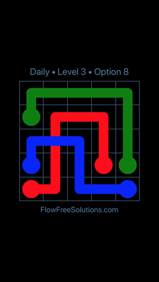 Solution and Answer to the Puzzle for Bridges Date Tuesday, August 13, 2019 Level 3