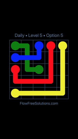 Solution and Answer to the Puzzle for Bridges Date Tuesday, May 24, 2016 Level 5