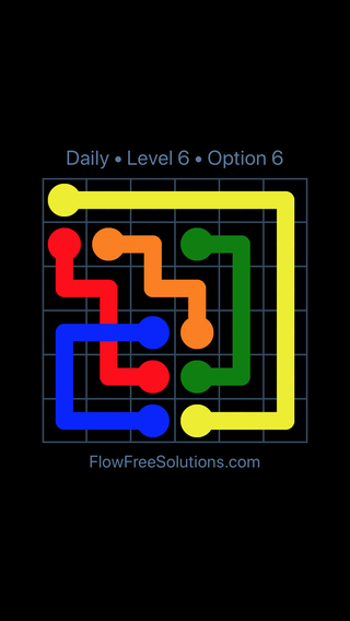 Solution and Answer to the Puzzle for Bridges Date Tuesday, August 13, 2019 Level 6