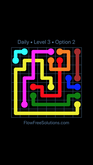 Solution and Answer to the Puzzle for Bridges Date Wednesday, August 17, 2016 Level 3