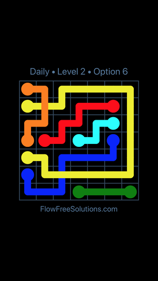 Solution and Answer to the Puzzle for Bridges Date Thursday, May 26, 2016 Level 2