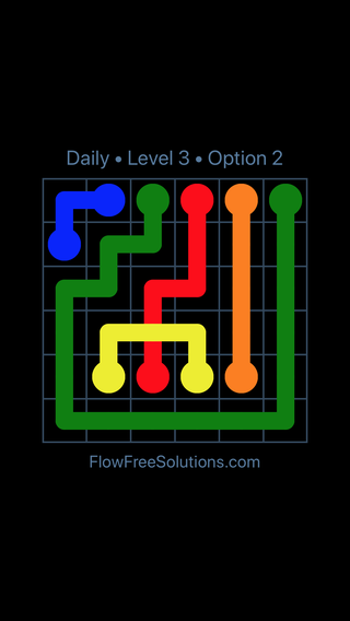 Solution and Answer to the Puzzle for Bridges Date Thursday, August 15, 2019 Level 3