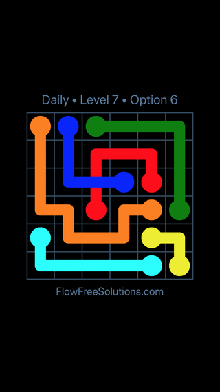 Solution and Answer to the Puzzle for Bridges Date Thursday, August 18, 2016 Level 7