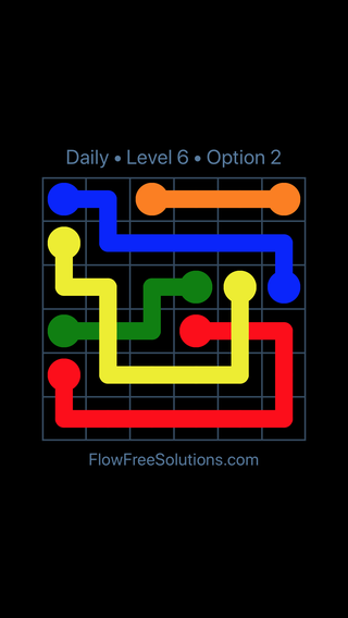 Solution and Answer to the Puzzle for Bridges Date Saturday, August 20, 2016 Level 6
