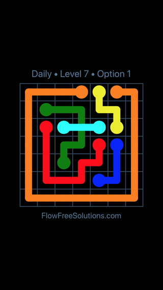 Solution and Answer to the Puzzle for Bridges Date Saturday, May 28, 2016 Level 7