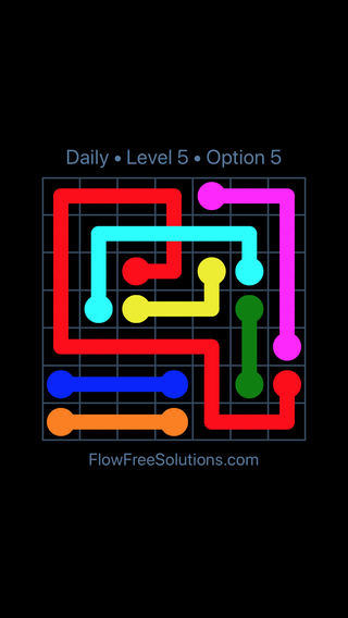 Solution and Answer to the Puzzle for Bridges Date Sunday, May 29, 2016 Level 5