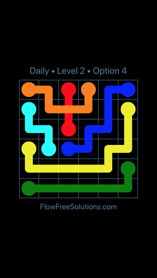 Solution and Answer to the Puzzle for Bridges Date Tuesday, March 15, 2016 Level 2