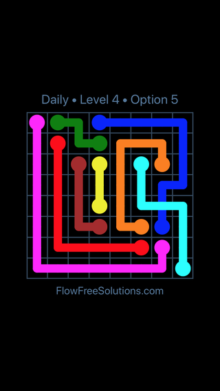 Solution and Answer to the Puzzle for Bridges Date Tuesday, March 15, 2016 Level 4