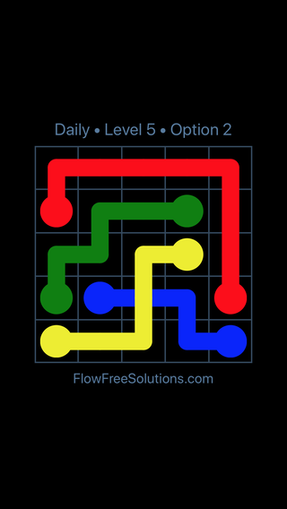 Solution and Answer to the Puzzle for Bridges Date Tuesday, March 15, 2016 Level 5
