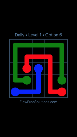 Solution and Answer to the Puzzle for Flow Date Tuesday, July 10, 2018 Level 1