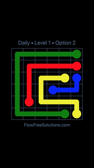 Solution and Answer to the Puzzle for Flow Date Thursday, June 16, 2016 Level 1