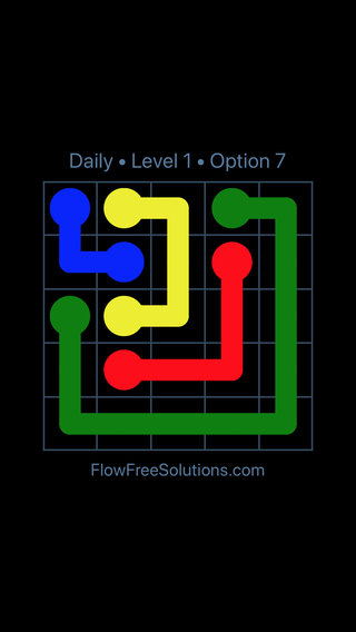 Solution and Answer to the Puzzle for Flow Date Wednesday, September 11, 2019 Level 1