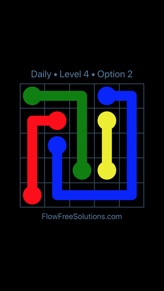Solution and Answer to the Puzzle for Flow Date Wednesday, June 22, 2016 Level 4