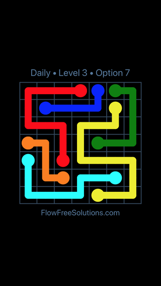 Solution and Answer to the Puzzle for Flow Date Thursday, September 12, 2019 Level 3