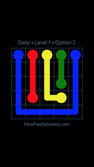 Solution and Answer to the Puzzle for Flow Date Tuesday, February 13, 2018 Level 1