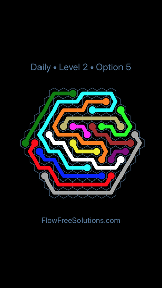 Solution and Answer to the Puzzle for Hexes Date Friday, January 11, 2019 Level 2