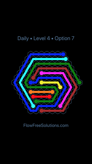 Solution and Answer to the Puzzle for Hexes Date Friday, January 11, 2019 Level 4