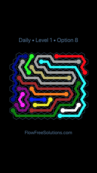 Solution and Answer to the Puzzle for Hexes Date Sunday, January 13, 2019 Level 1