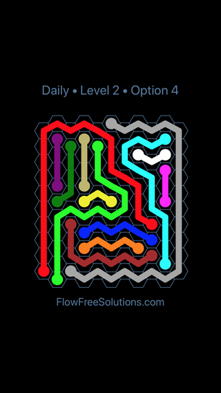 Solution and Answer to the Puzzle for Hexes Date Tuesday, March 29, 2016 Level 2