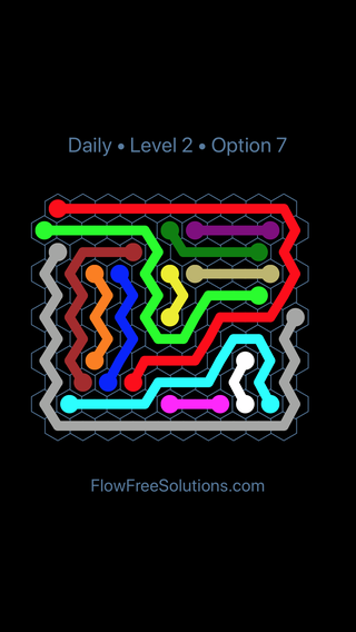 Solution and Answer to the Puzzle for Hexes Date Sunday, January 13, 2019 Level 2