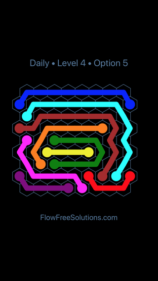 Solution and Answer to the Puzzle for Hexes Date Sunday, August 11, 2019 Level 4