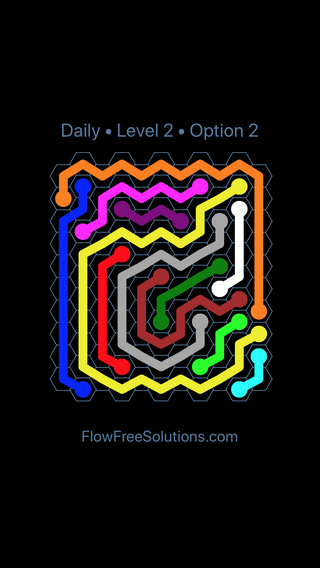 Solution and Answer to the Puzzle for Hexes Date Tuesday, April 17, 2018 Level 2