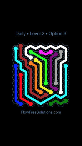 Solution and Answer to the Puzzle for Hexes Date Saturday, September 7, 2019 Level 2