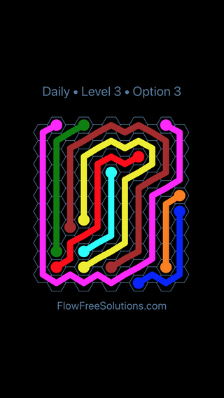 Solution and Answer to the Puzzle for Hexes Date Saturday, September 7, 2019 Level 3