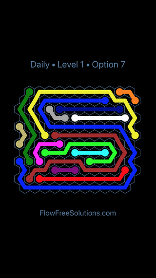 Solution and Answer to the Puzzle for Hexes Date Sunday, September 8, 2019 Level 1