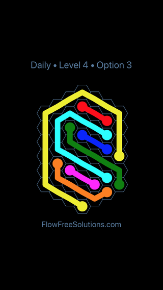 Solution and Answer to the Puzzle for Hexes Date Friday, May 18, 2018 Level 4