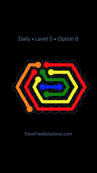 Solution and Answer to the Puzzle for Hexes Date Friday, May 18, 2018 Level 5