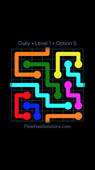 Solution and Answer to the Puzzle for Warps Date Monday, January 8, 2018 Level 1
