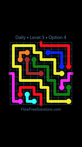 Solution and Answer to the Puzzle for Warps Date Monday, January 8, 2018 Level 3