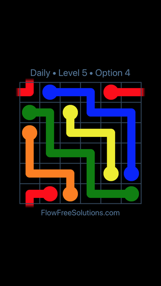 Solution and Answer to the Puzzle for Warps Date Monday, March 7, 2016 Level 5